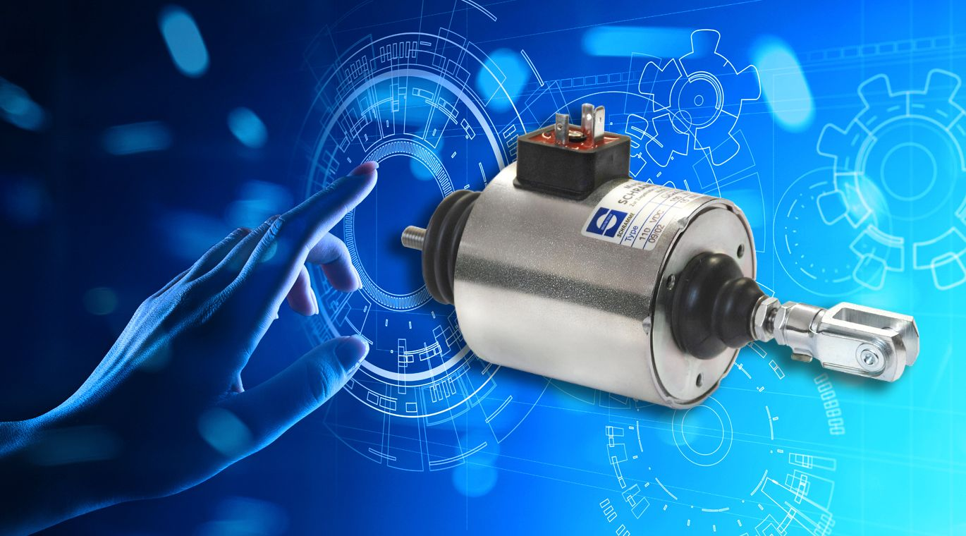 Linear Solenoids and Electromagnetsm in High-Quality made by magnetbau schramme